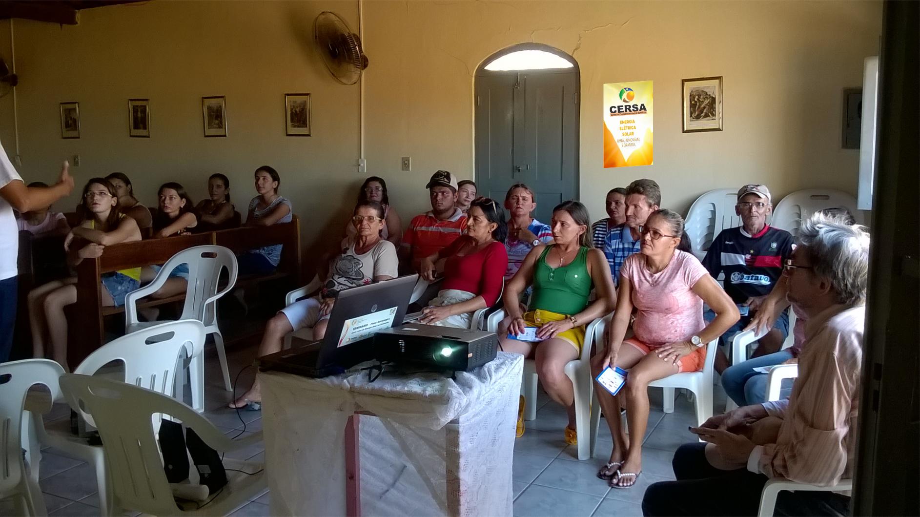 CERSA promove apresentação do projeto Padaria Solar.