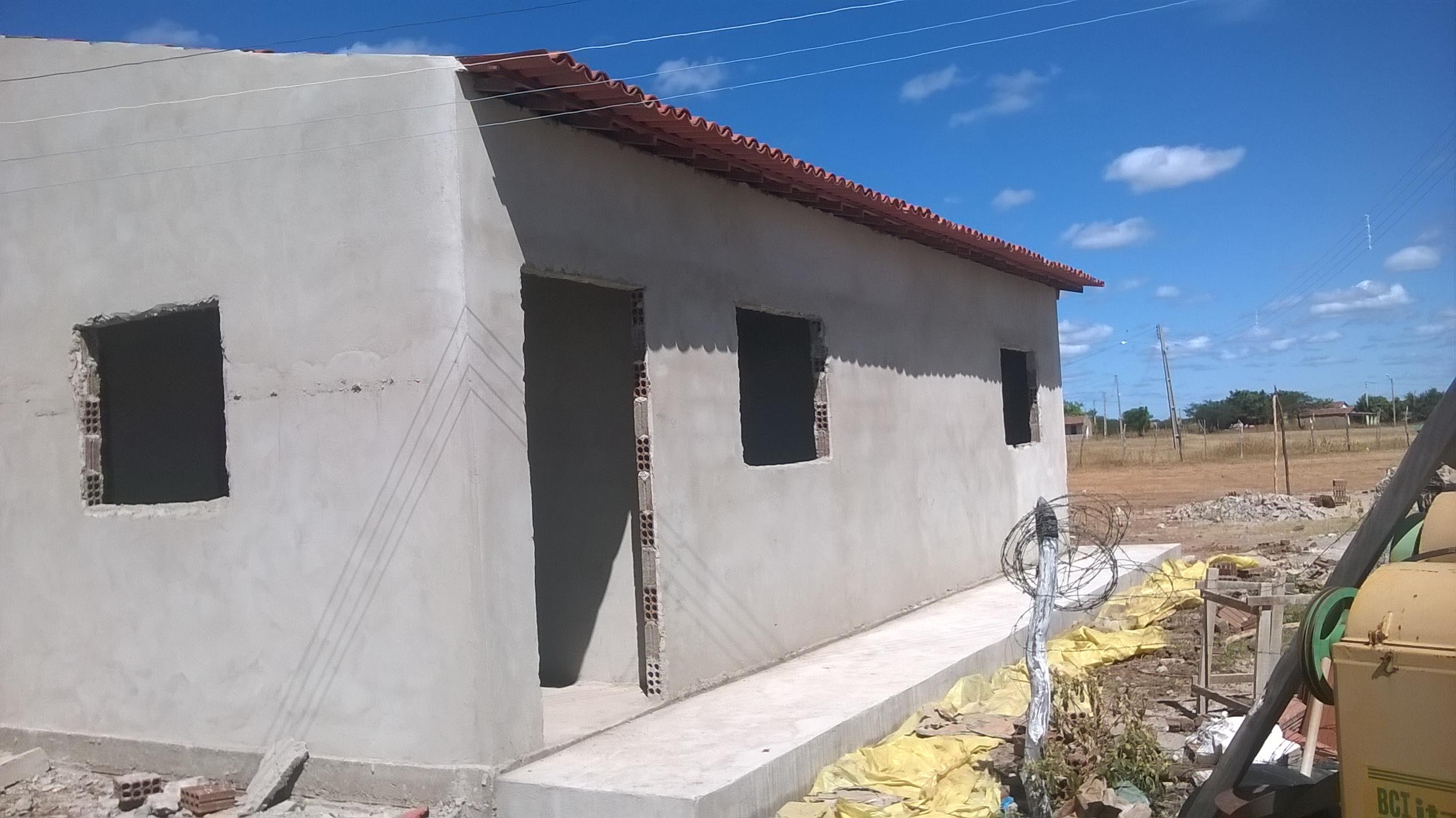 A Fábrica de Bolo das Oliveiras já está em fase de conclusão.