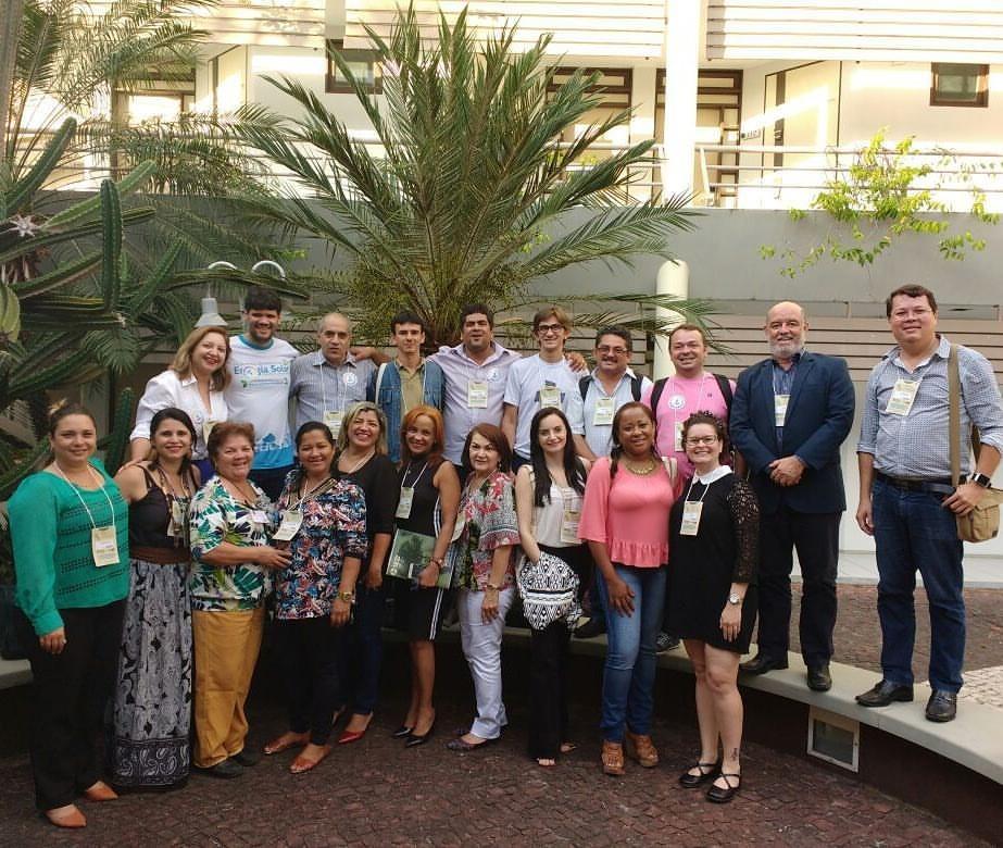 Representantes das instituições que integram a Rede ODS Brasil